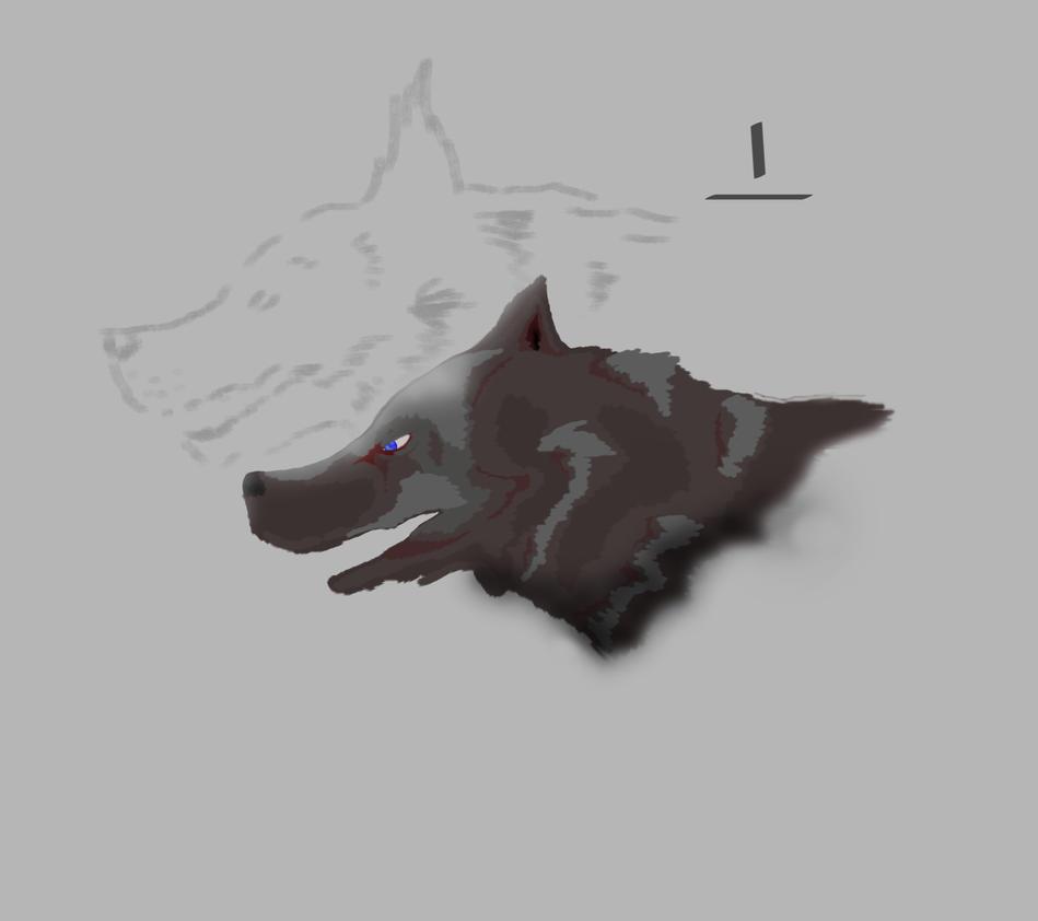 test wolf by esmeallan on deviantart. Black Bedroom Furniture Sets. Home Design Ideas
