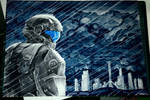 ODST in the rains of New Mombasa