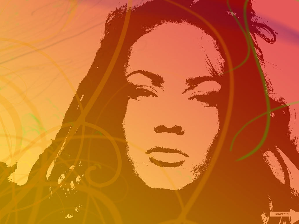 Megan Fox Mixed Colors by Scarlatrix