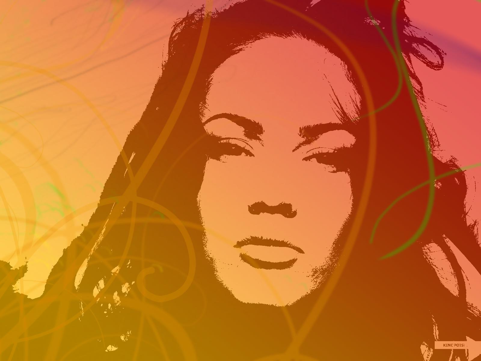 Megan Fox Mixed Colors by Scarlatrix