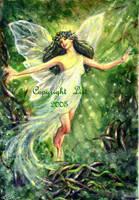 Earth Fairy Elemental by LisiDula