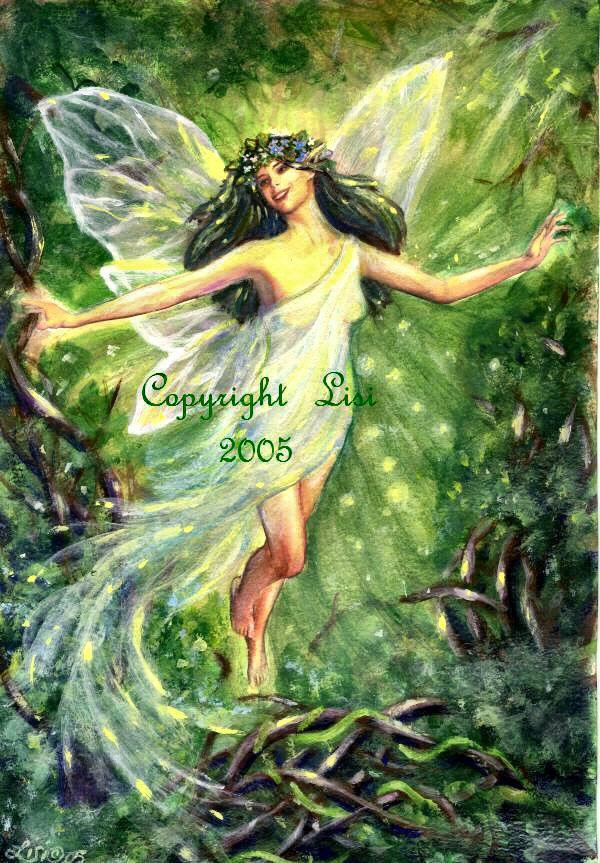 Earth Fairy Elemental by LisiDula on DeviantArt