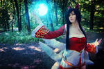 Ahri cosplay (League of Legends)