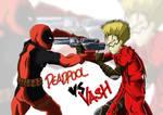 Deadpool vs. Vash