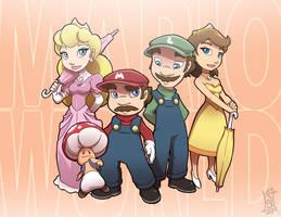 Super-Duper Mario World by SeriojaInc