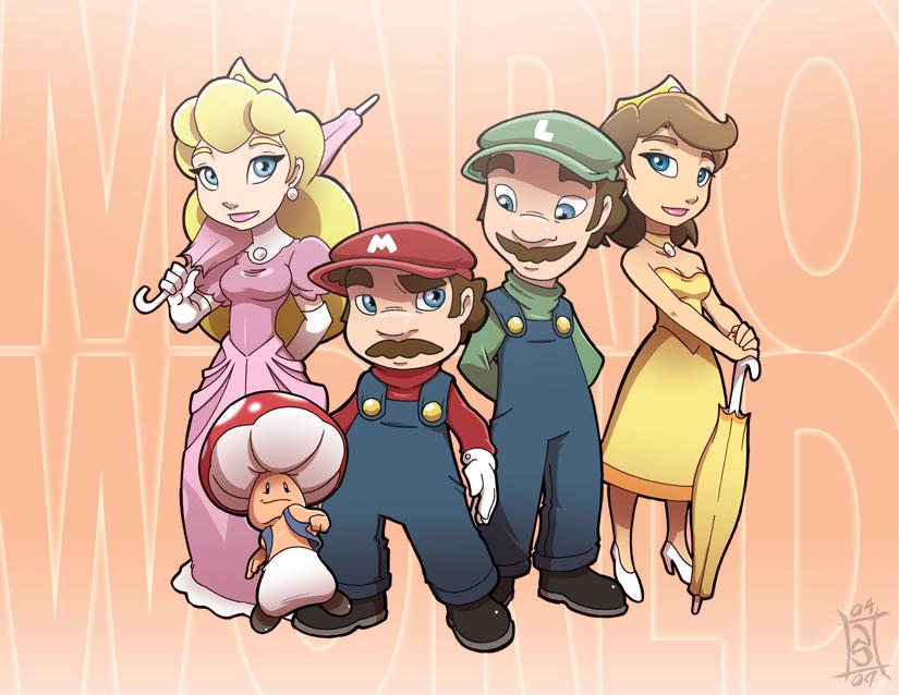 Super-Duper Mario World