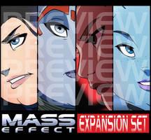 Mass Effect set PREVIEW by SeriojaInc