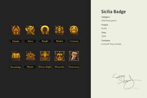 Sicilia Badge by cseec