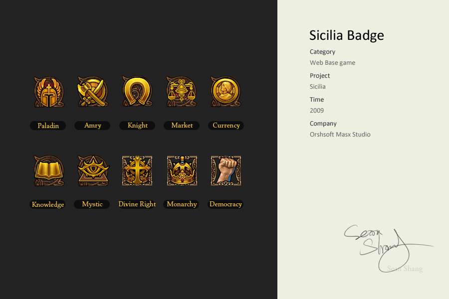 Sicilia Badge by cseec