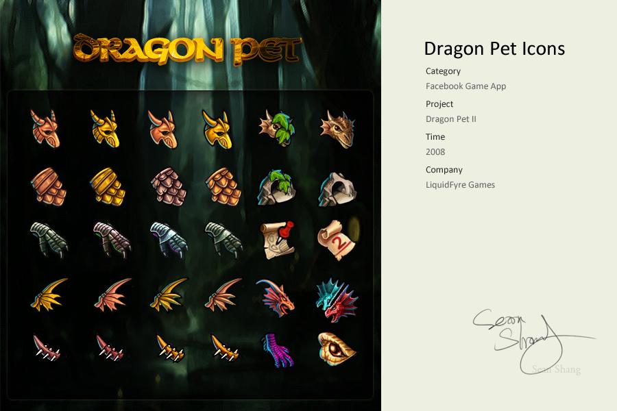 Pet Dragons 2 Icons by cseec