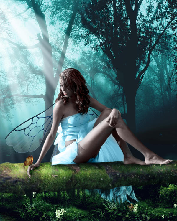 Arabella 'Ari' Katrina Montez Forest_Fairy_by_Pygar