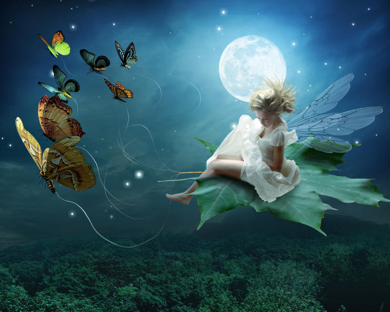 Moonlit Fairy by Pygar