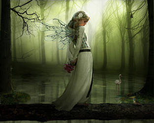 Green Fairy WP by Pygar