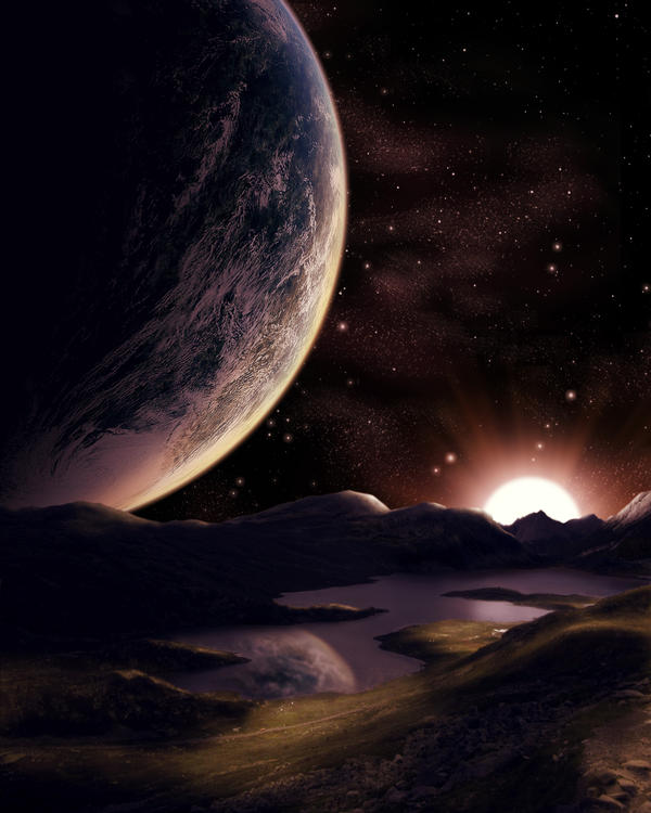 Alien Landscape by Pygar on DeviantArt