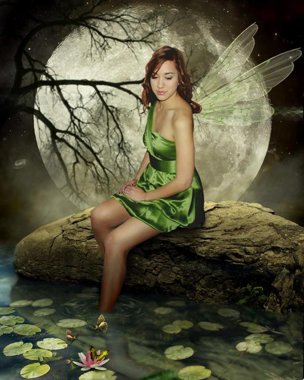 Green Fae by Pygar