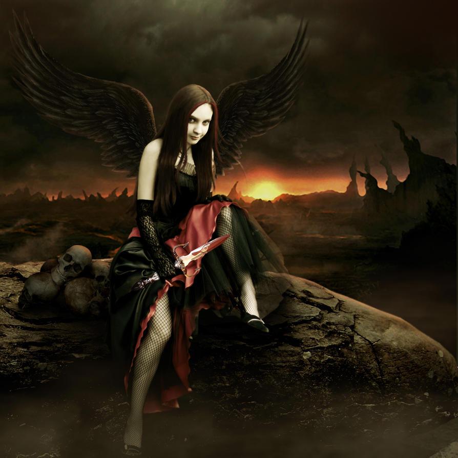 angel of darkness by pygar on deviantart