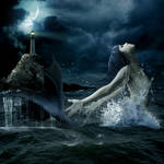 Mermaid and Lighthouse
