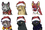 Christmas Icons Batch #1 by demonwolf1999