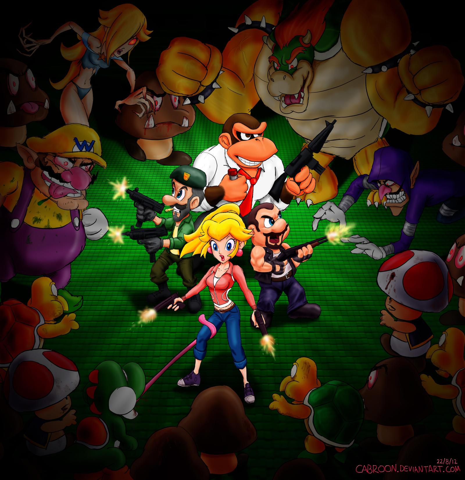Mario princess rosalina 1up by minus 8 - 2 part 10