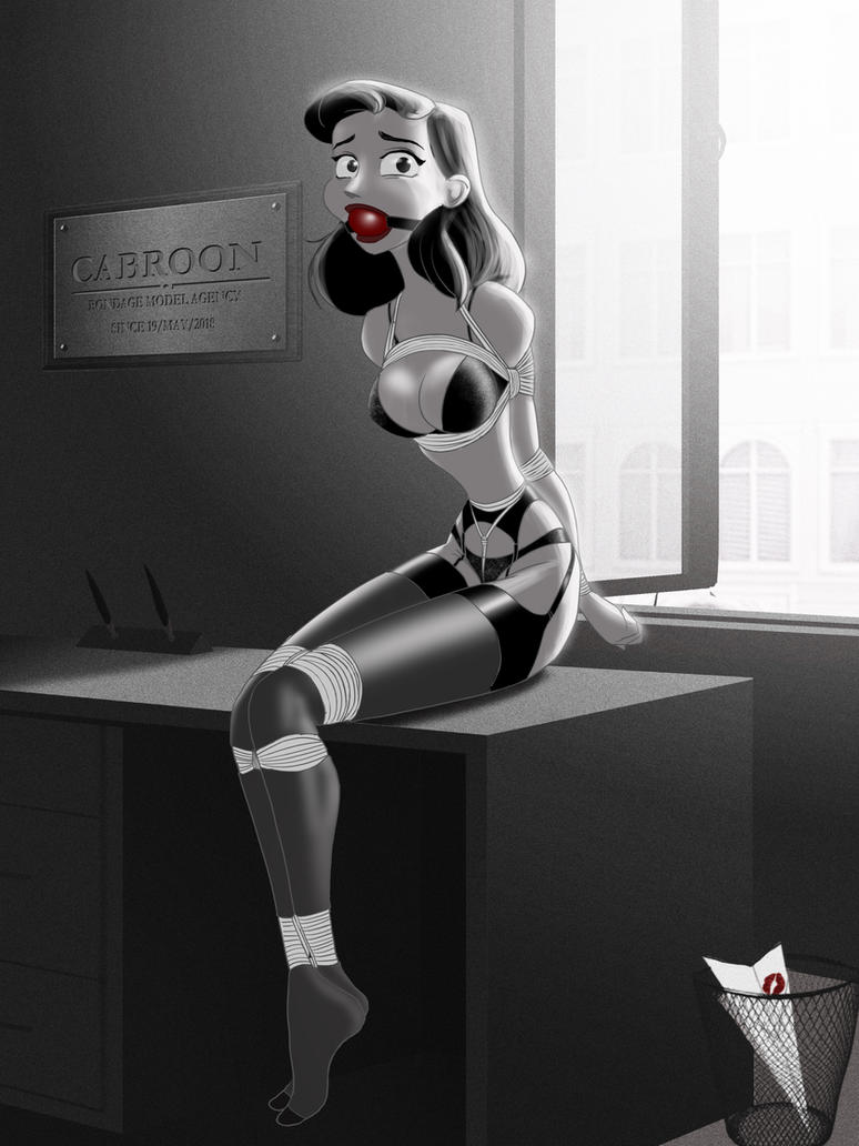 Job interview lingerie by cabroon