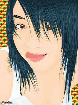 Bright hair
