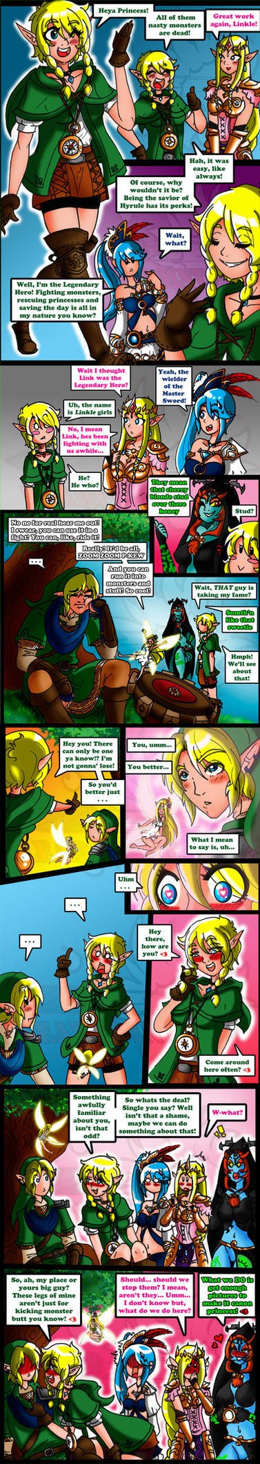 Hyrule Lover-ers by leadpoint