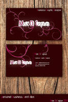 Personel Business Card Idea 2 by Maxdicapua