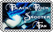 Black Rock Shooter fan stamp by Tokis