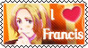 APH- France Francis stamp by Tokis