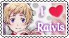 APH- Latvia Raivis stamp by Tokis