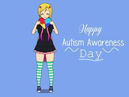 Lilia | Happy Autism Awareness Day!