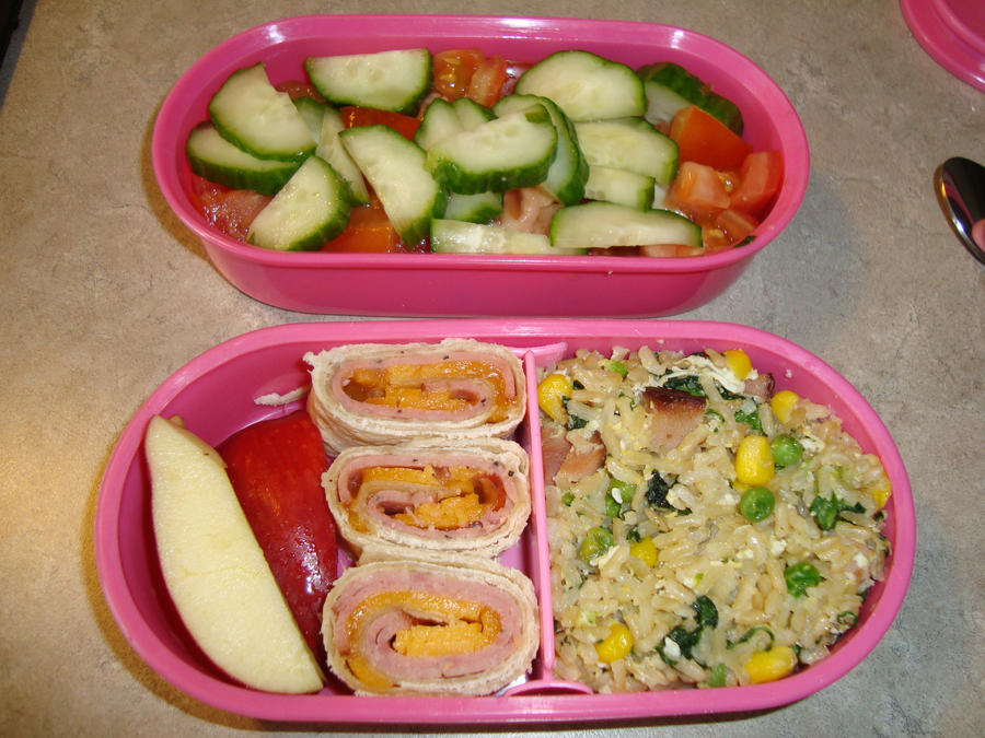 Summer Bento 3 by AtticusBlackwolf