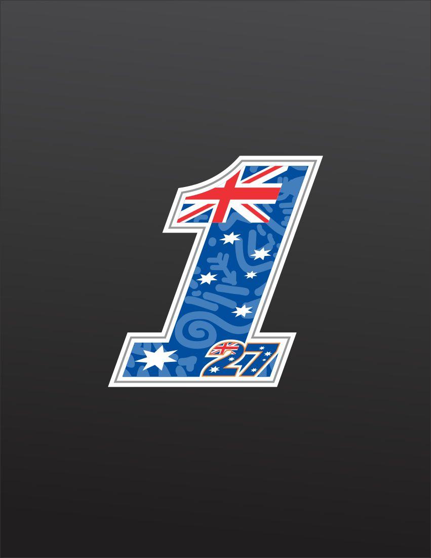 Casey Stoner No1 Logo 2012 By Dnhart13