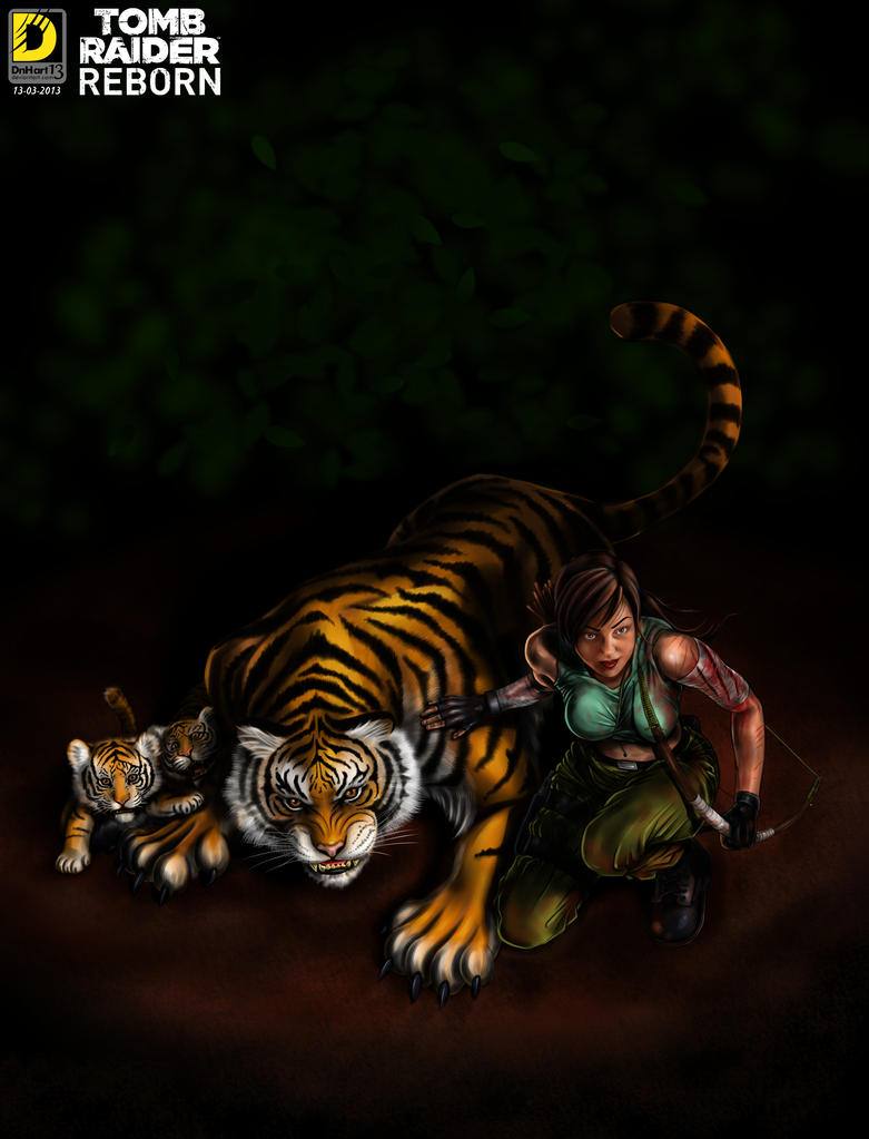 Nature Protector (Tomb Rider Reborn Contest) by dnhart13