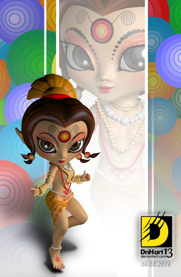 Shanaya 3D by dnhart13