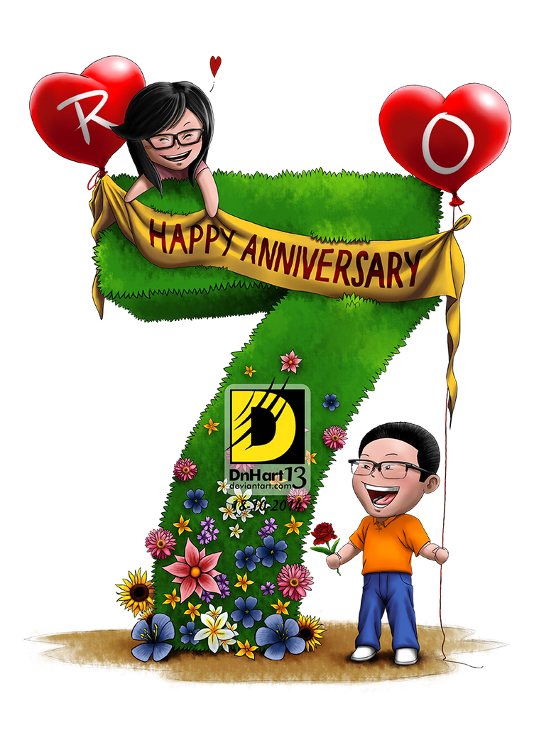 7th Anniversary by dnhart13