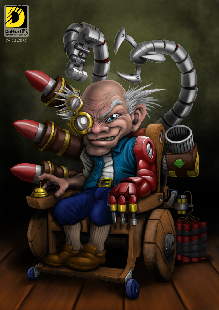 Come and Destroy Gnome (Heartstone Contest) by dnhart13
