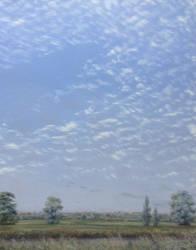 'Flock of sheep' sky over Cambridge, July