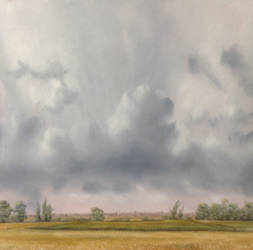 Rain clearing, Cambridge, late July