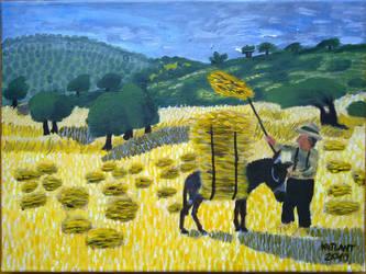 Hay Crop by CutePigTail