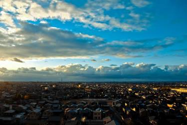 Kanazawa city by ssagano