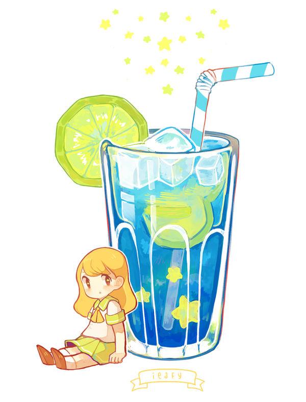 Starry Soda [SPEEDPAINT!]