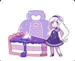 Com ST: Rainue- Mulberry jam cheesecake