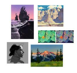 Various Studies by ieafy