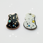 Wishbear enamel pin