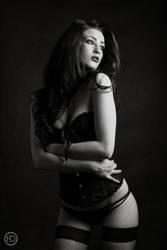 BLACK CORSET by HDphotographie