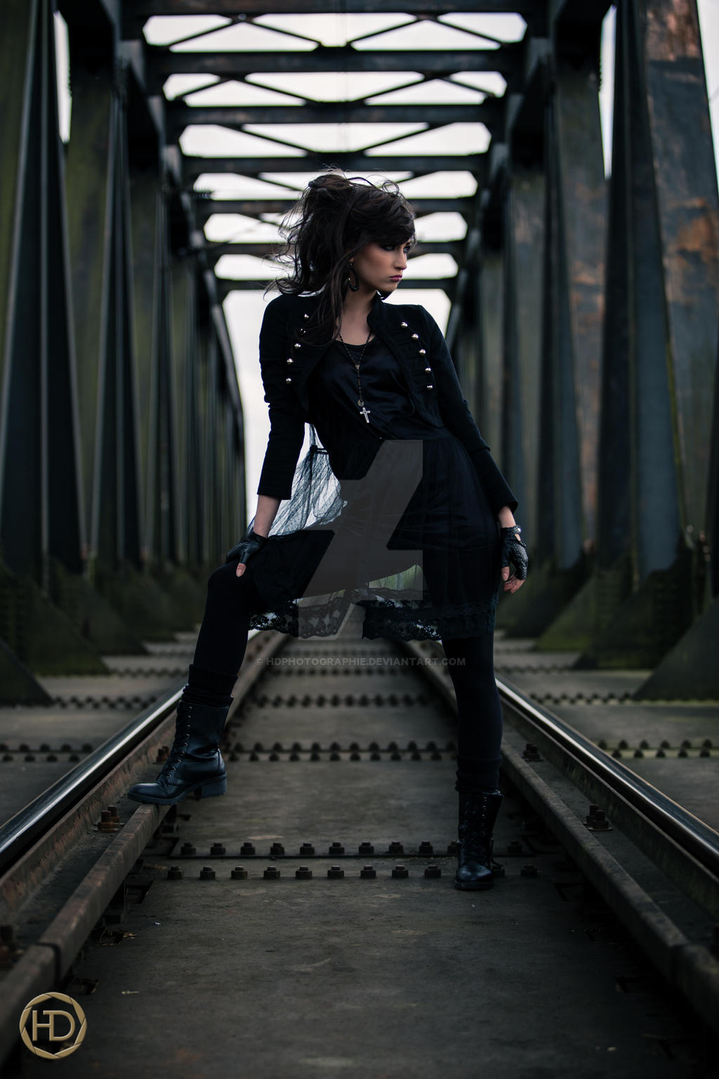 METAL BRIDGE by HDphotographie