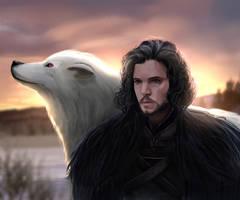 Jon Snow by Ruzel22