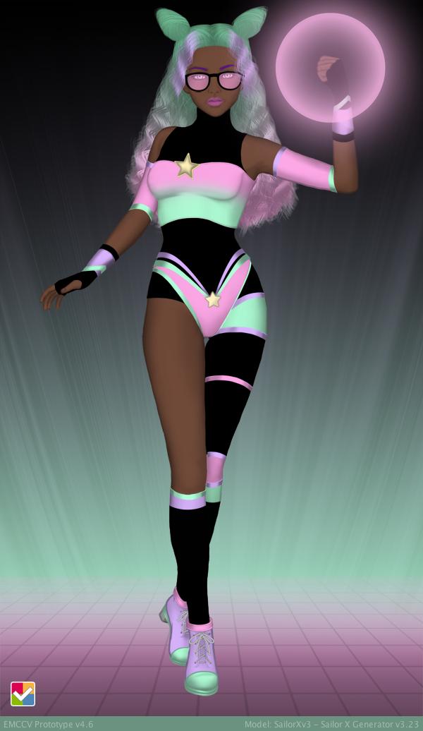 Sailor Senshi: Original Character ~Pastel Glow~ by LaKiraRee