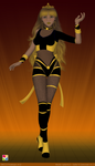 Sailor Senshi: Original Character ~Bee Hive~